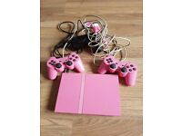 Pink ps2 unfortunately no games