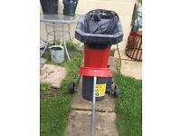 Garden tree small branch shredder