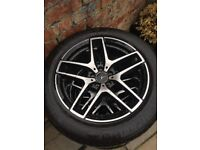 """4 x Mercedes ML 19"""" Alloys complete with 4 NEW Michelin tyres"""