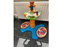 V Tech Sit to a stand Dancing Tower - excellent condition