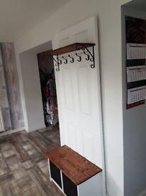 Hallway storage unit