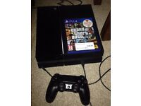 PS4 console Excellent Deal! Include game and controller.. 500GB