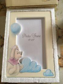 Winnie the Pooh 6x4 photo frame