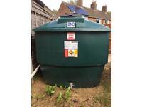 Harlequin oil tank 2700 litre bunded