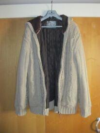 Mantaray Aran style coat / jacket