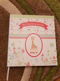 Sophie le giraffe pregnancy journal.
