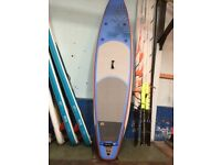 2016 Starboard Astro Touring 12'6 Zen stand up paddle board package SUP