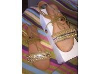 Gladiator Sandals (Desert Khaki)