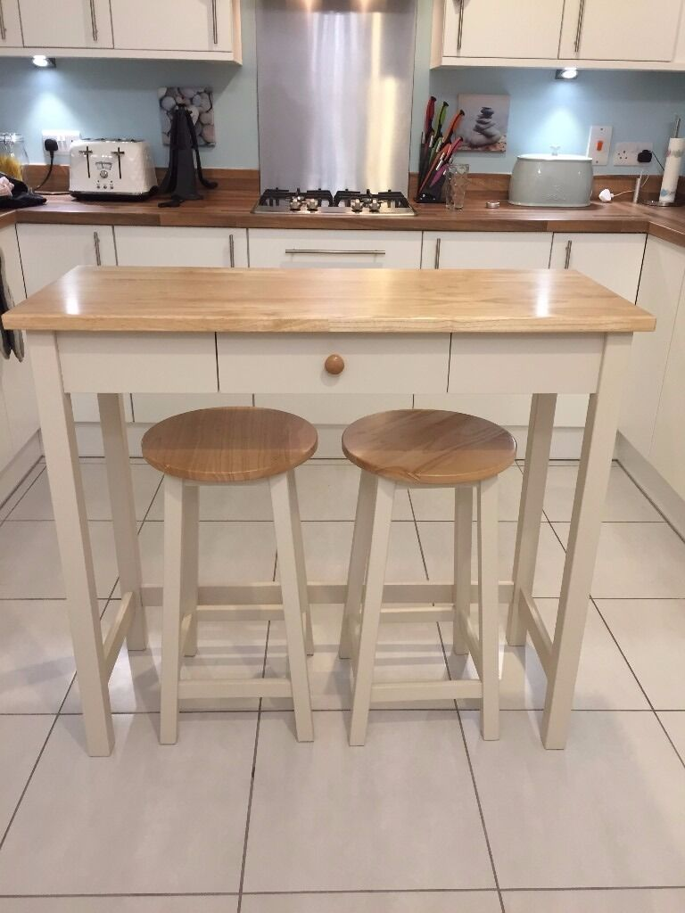 john lew adler bar table & stools £150 ono | in bicton heath
