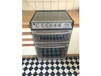 Cannon Dual Fuel Cooker - Gas Hob and Electric Double Oven
