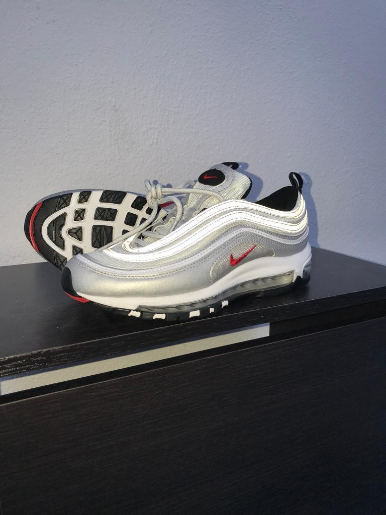 7a1da8d4ae Nike Air Max 96 OG Silver bullet size Uk 10 brand new unworn   in ...