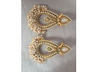 Indian Asian Bridal Jewellery Bollywood Party Ethnic Wear Earrings