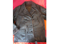 Nappa Leather Retro Flying Rockabilly Vintage Jacket Coat L to XL Excellent quality!!