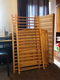 Little babes robie cot/bed with matress