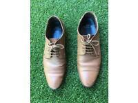 Moss London Men's smart shoes size 8