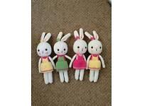 Crochet doll bunny 11 inches(£10each)