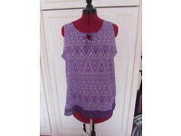 Various ladies summer tops Size 18 to 22