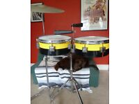 Eddie Ryan custom built Timbales.