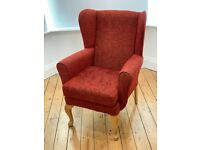 As new beautiful occasional chair