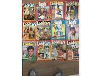 Look in magazines 1980s with poster inserts x23 job lot