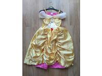 DISNEY BELLE DRESS 7 TO 8 YEAR OLD