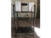 Superb Music System and Stand for Sale!