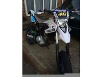Yamaha wr 125x road legal supermoto/enduro not cr/crf,yz/yzf/250/450/honda/ktm