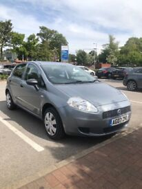 07 FIAT PUNTO 1.2 ACTIVE GREY MET 5 DR MOT JUNE 19 DRIVES AND LOOKS GREAT