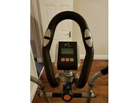 2 in 1 Exercise Bike with seat and Cross Trainer