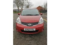 Low mileage Nissan Note 1.4 16v N-tec+ 5dr
