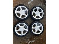"16"" Ford Cosworth style alloys 4x108"