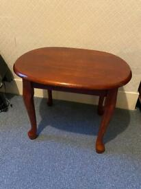 Wooden side table ONO
