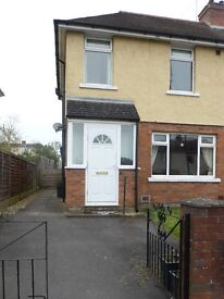 To let: 3 bed large semi, with garden & off road parking