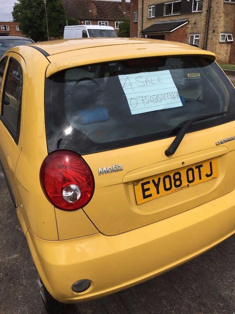 Chevrolet Matiz For Sale 1.0 Litre Petrol