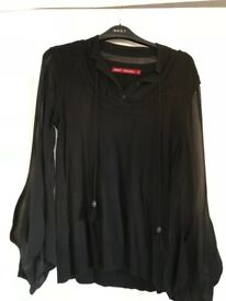 Ladies Black Top