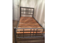 SINGLE BED WITH SILENTNIGHT MATTRESS FOR SALE