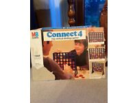 Connect 4 Vintage Game By MB Games