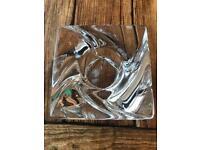 High quality Scandinavian art glass candle holder