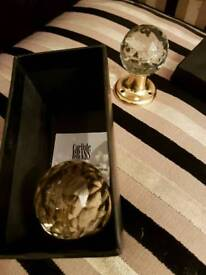 10 of carlile brass crystle internal door handles