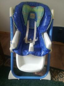 FISHER PRICE DELUXE PLUS HEALTH CARE HIGH CHAIR