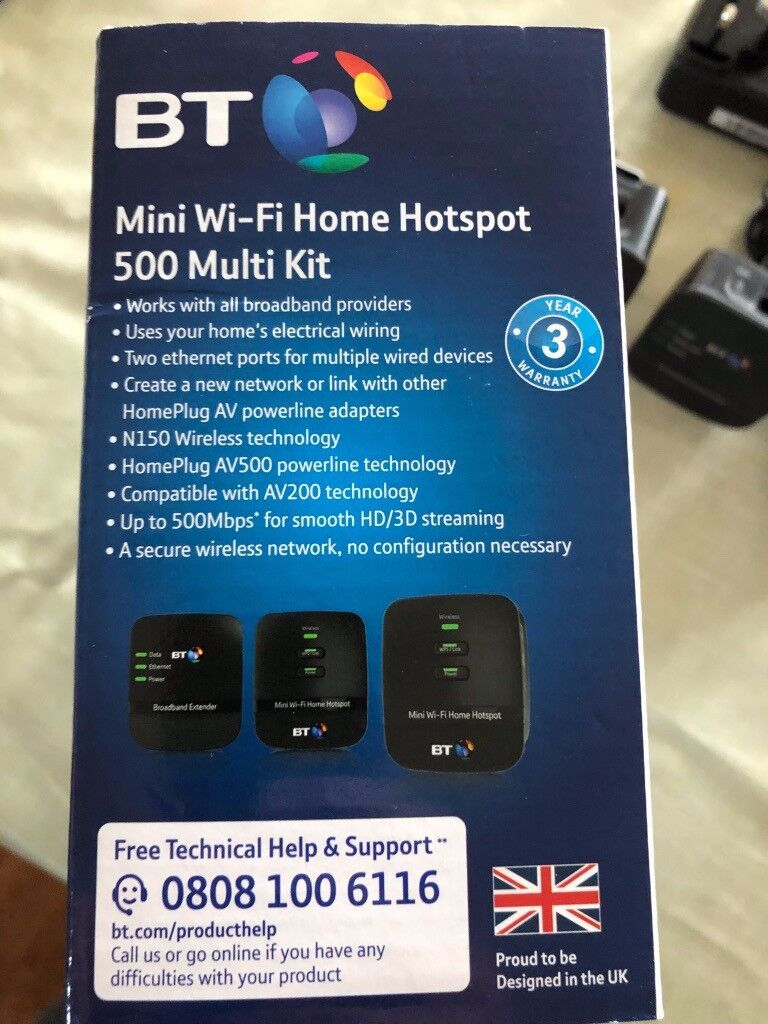 Bt Mini Wi Fi Home Hotspot 500 Extender In Forfar Angus Gumtree Powerline Networking Communicating Via Electrical Wiring