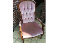 Queens chair - high back