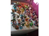 49 skylanders and Disney infinity characters and portals