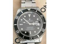 Wanted Rolex Omega etc genuine Swiss watches,