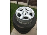 Land Rover Alloy Wheels x4
