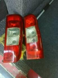 Transit tail lights mk7