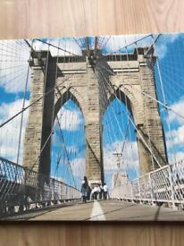 Brooklyn Bridge New York wall canvas