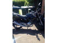 125cc Yamaha Ybr 2013
