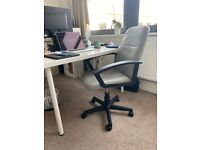 Habitat Brixham Faux Leather Office Chair - MINT condition