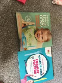 Annabel karmel and Sainsbury's weaning book- toddler recipes